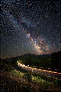 US101 beneath the majestic night sky