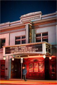 Arcata Minor Theater during a PG&E Power Shutoff