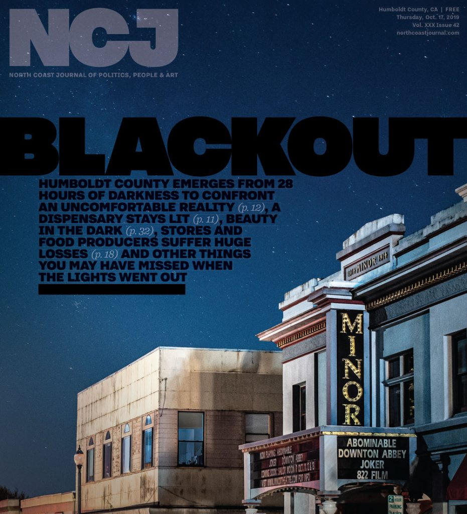 North Coast Journal Cover, 10-17-2019