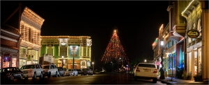 Ferndale Main Street & Christmas Tree