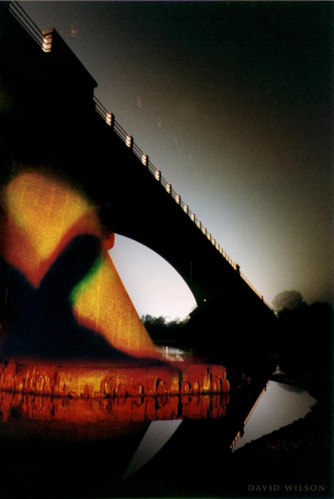A shadow fell across the base of Fernbridge that night