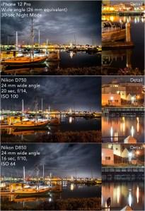 iPhone 12 Pro vs Nikon D750 & D850